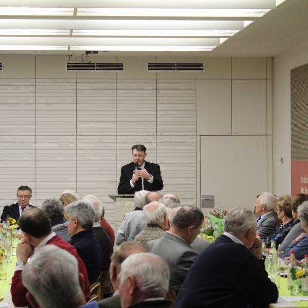 Vortrag zur Bewältigung demografischer Herausforderungen bei der Gemeinde St. Georg