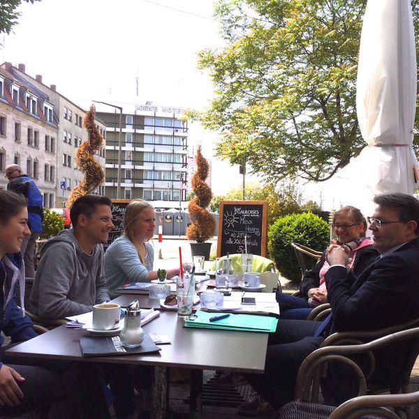 Interview mit Geographie-Studenten der Uni Augsburg