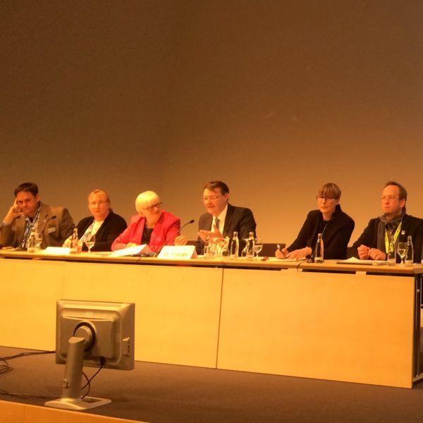 Die Sonntagsöffnung war Thema auf dem 104. Bibliothekartag in Nürnberg