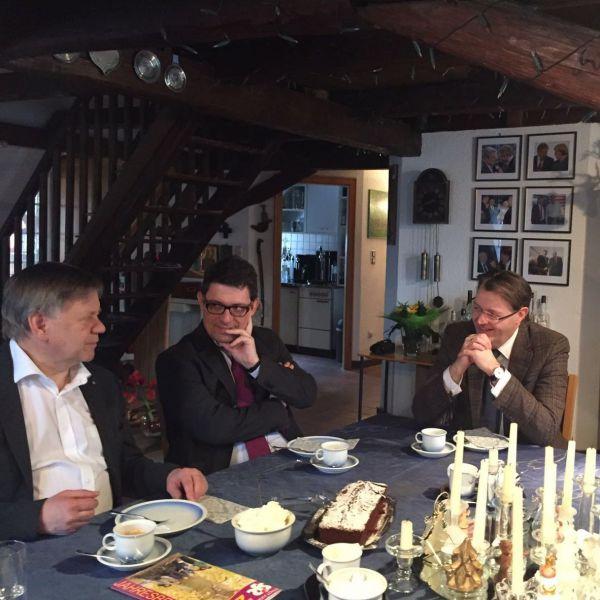 Treffen mit BJR-Präsident Matthias Fack in Schwabach