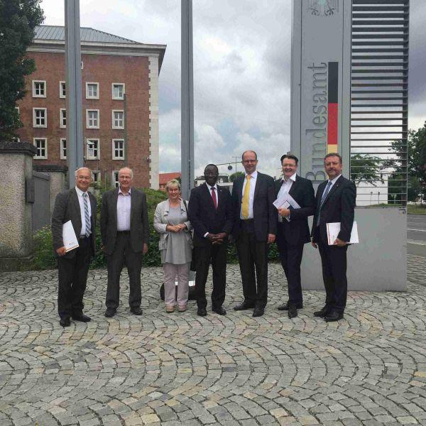 Menschenrechtsausschuss des Bundestages zu Gast in Nürnberg