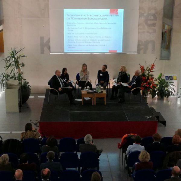 Herausforderungen für die Nürnberger Bildungspolitik im Fokus