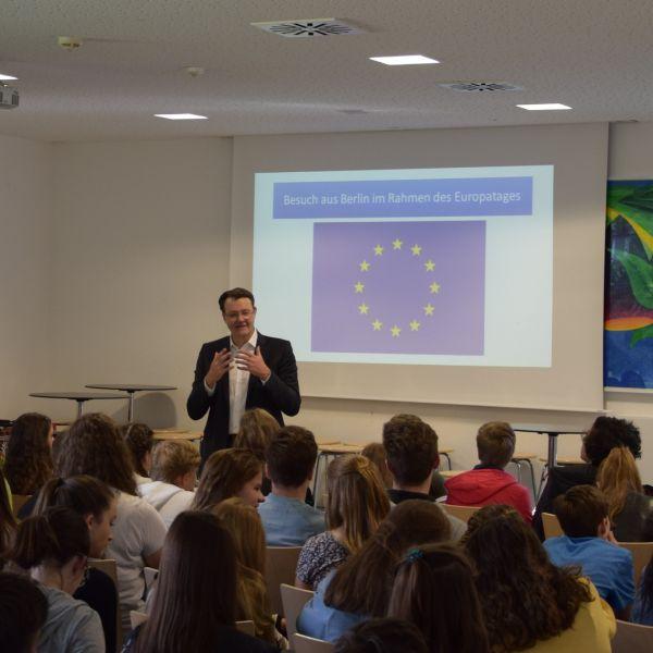 Europatag beim Neuen Gymnasium Nürnberg