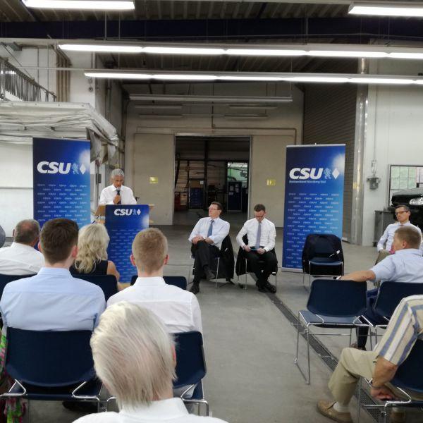 Business Talk im Nürnberger Süden