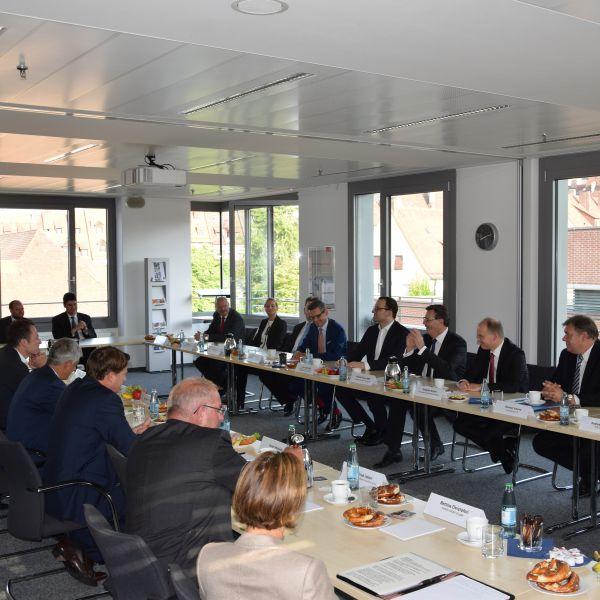 Finanzpolitisches Frühstück mit Jens Spahn
