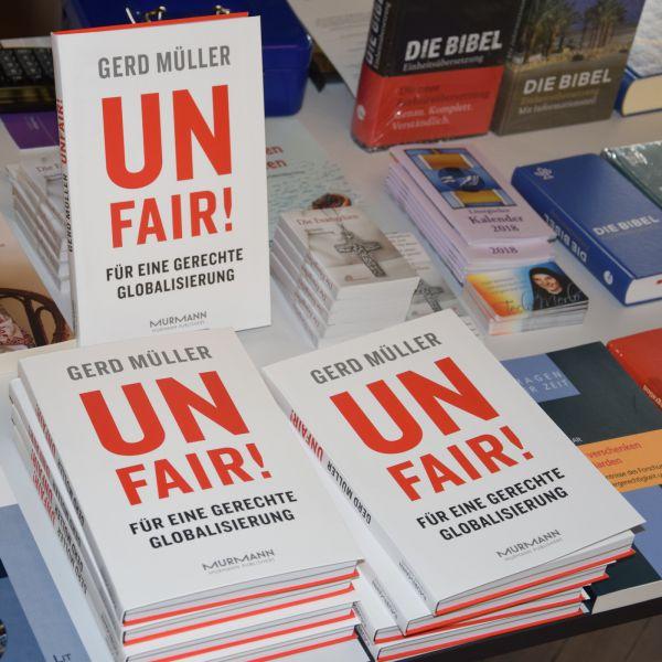 """Unfair?!"" – Bundesentwicklungsminister Gerd Müller im CPH"