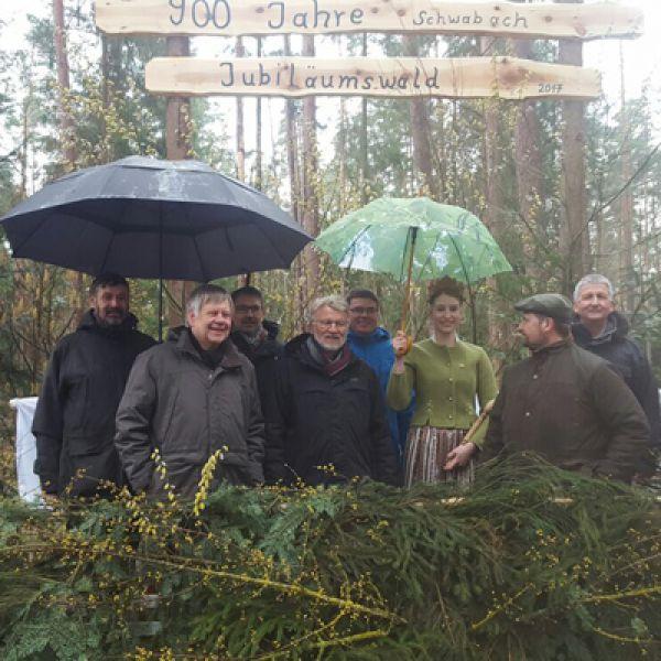 900 Bäume für 900 Jahre Schwabach