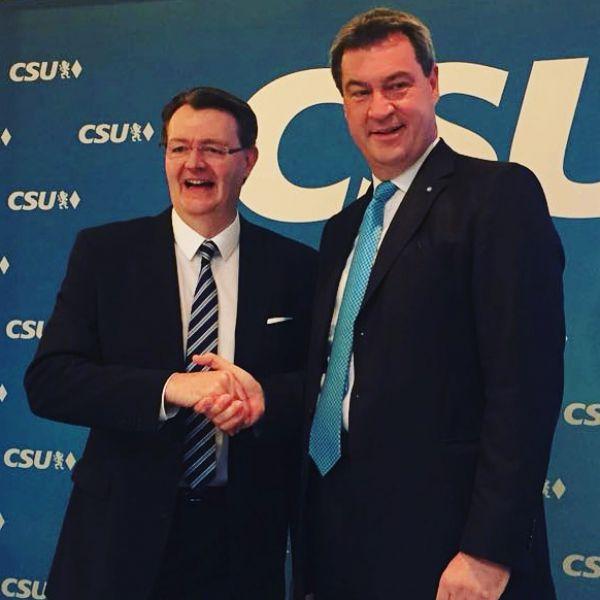 Dr. Markus Söder Ehrenvorsitzender des CSU-Bezirksverbandes