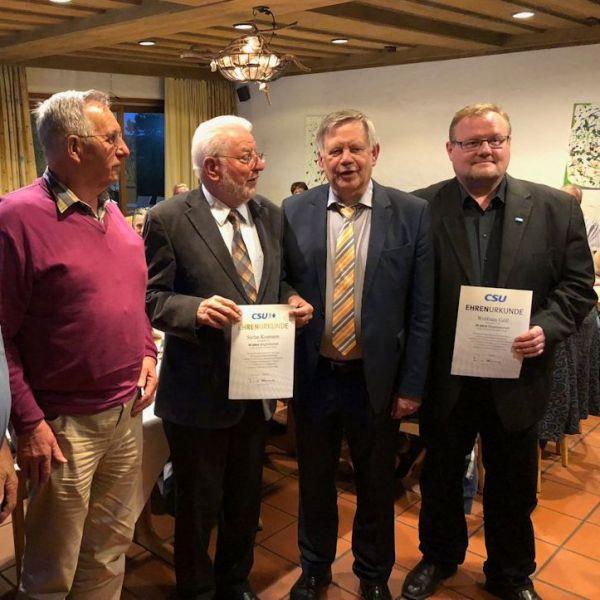 Mitgliederversammlung CSU Schwabach