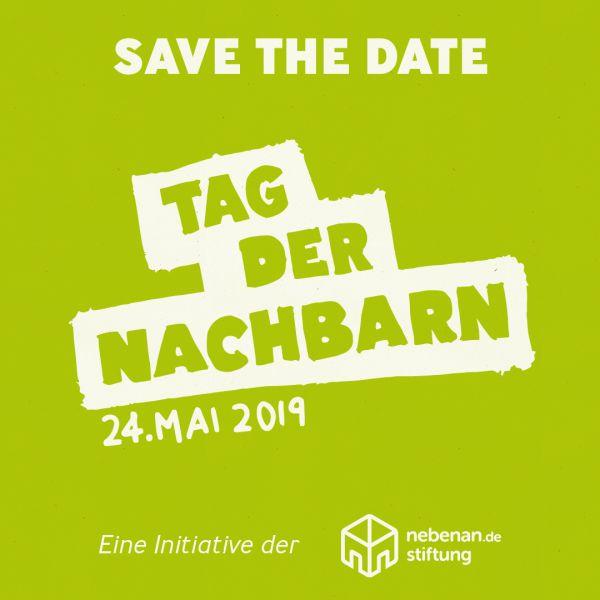 """Tag der Nachbarn"" am 24. Mai 2019"