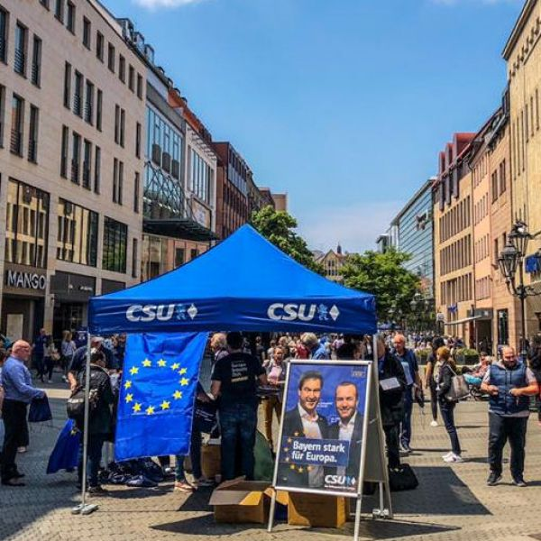 Europawahl 2019: CSU hat auch in Nürnberg hinzugewonnen