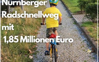 Bund fördert Nürnberger Radschnellweg